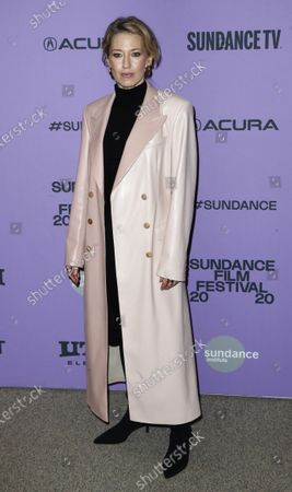 Carrie Coon arrives for the premiere of the film 'The Nest' at the 2020 Sundance Film Festival in Park City, Utah, USA, 26 January 2020. The festival runs from 22 January to 02 February 2020.