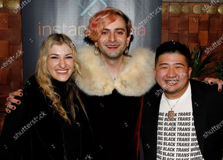 Stock Image of Sam Gold, Jacob Tobia and Damien Bell