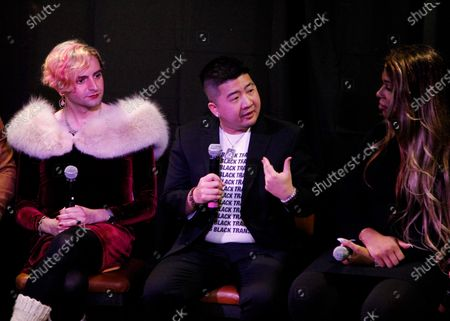 Editorial picture of 'Instant Karma Panel Discussion' event, The Cabin, Sundance Film Festival, Park City, USA - 25 Jan 2020