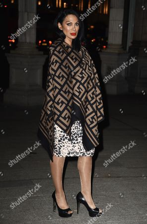 Stock Photo of Janine Nerissa arrives at the Reg Traviss Engagement Party