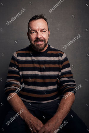 """Alan Ball poses for a portrait to promote the film """"Uncle Frank"""" at the Music Lodge during the Sundance Film Festival, in Park City, Utah"""
