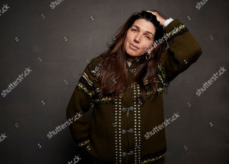 """Stock Photo of Zeina Durra poses for a portrait to promote the film """"Luxor"""" at the Music Lodge during the Sundance Film Festival, in Park City, Utah"""