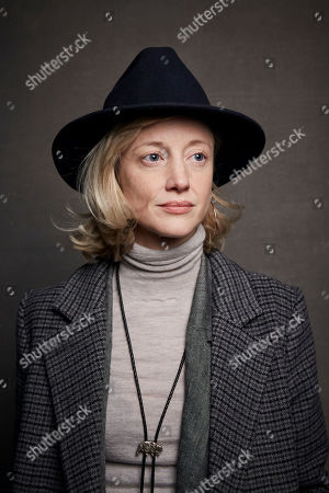 """Andrea Riseborough poses for a portrait to promote the film """"Luxor"""" at the Music Lodge during the Sundance Film Festival, in Park City, Utah"""