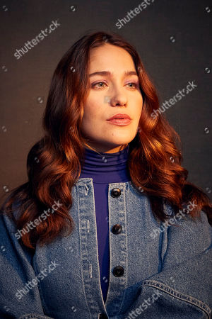 """Lola Kirke poses for a portrait to promote the film """"Lost Girls"""" at the Music Lodge during the Sundance Film Festival, in Park City, Utah"""