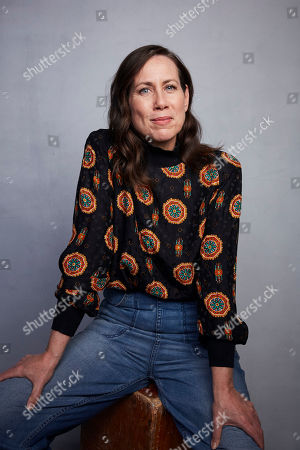 """Miriam Shor poses for a portrait to promote the film """"Lost Girls"""" at the Music Lodge during the Sundance Film Festival, in Park City, Utah"""