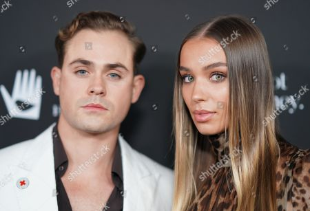 Stock Image of Dacre Montgomery and Liv Pollock
