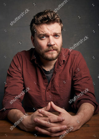 """Stock Image of Pilou Asbaek poses for a portrait to promote the film """"Run Sweetheart Run"""" at the Music Lodge during the Sundance Film Festival, in Park City, Utah"""