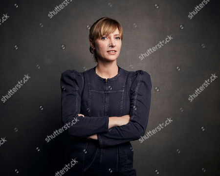 """Stock Picture of Shana Feste poses for a portrait to promote the film """"Run Sweetheart Run"""" at the Music Lodge during the Sundance Film Festival, in Park City, Utah"""