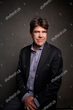 """Gregory Barker poses for a portrait to promote the film """"Sergio"""" at the Music Lodge during the Sundance Film Festival, in Park City, Utah"""