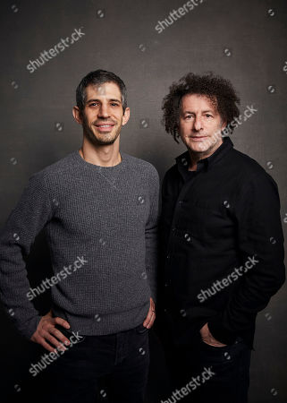 """Gregory Kershaw, Michael Dweck. Directors Gregory Kershaw, left, and Michael Dweck pose for a portrait to promote the film """"The Truffle Hunters"""" at the Music Lodge during the Sundance Film Festival, in Park City, Utah"""