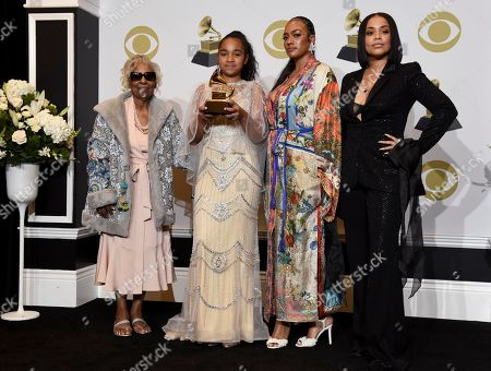 Editorial image of 62nd Annual Grammy Awards - Press Room, Los Angeles, USA - 26 Jan 2020