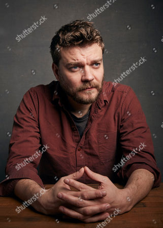 """Pilou Asbaek poses for a portrait to promote the film """"Run Sweetheart Run"""" at the Music Lodge during the Sundance Film Festival, in Park City, Utah"""