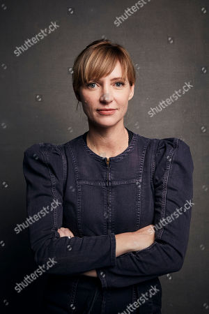 """Shana Feste poses for a portrait to promote the film """"Run Sweetheart Run"""" at the Music Lodge during the Sundance Film Festival, in Park City, Utah"""