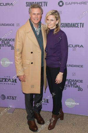 Will Ferrell and Viveca Paulin