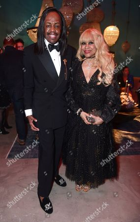 Verdine White, Shelly Clark. Verdine White, left, and Shelly Clark attend Universal Music Group's 2020 Grammy After Party Presented By Lenovo on in Los Angeles