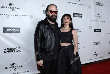 Brett Gelman, Ari. Brett Gelman, left, and Ari attend Universal Music Group's 2020 Grammy After Party Presented By Lenovo on in Los Angeles