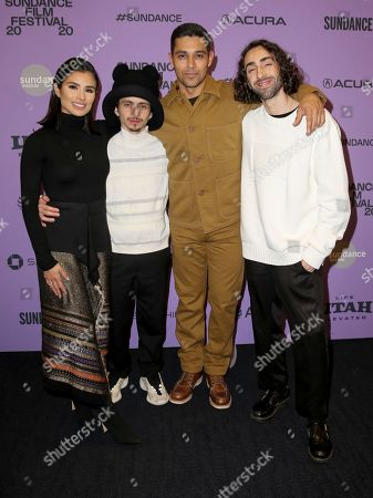 Diane Guerrero, Mateo Arias, Wilmer Valderrama and Mateo Arias