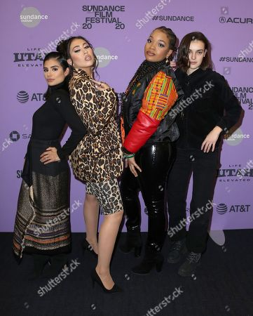 Diane Guerrero, Kali Uchis, Ashley Jackson and Ava Capri