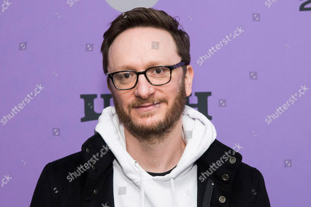 "Stock Photo of Akiva Schaffer attends the premiere of ""Palm Springs"" at the Library Center Theatre during the 2020 Sundance Film Festival, in Park City, Utah"