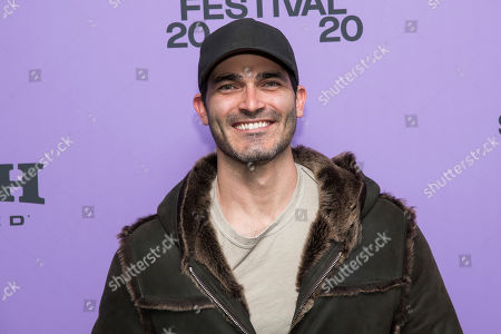 """Stock Image of Tyler Hoechlin attends the premiere of """"Palm Springs"""" at the Library Center Theatre during the 2020 Sundance Film Festival, in Park City, Utah"""