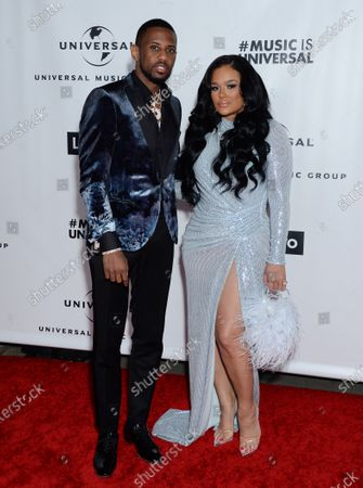 Stock Image of Fabolous and Emily Bustamante