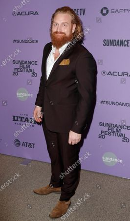 Kristofer Hivju arrives for the premiere of 'Downhill' at the 2020 Sundance Film Festival in Park City, Utah, USA, 26 January 2020. The festival runs from 22 January to 02 February 2020.