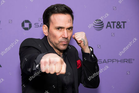 """Stock Picture of Jason David Frank attends the premiere of """"Omniboat: A Fast Boat Fantasia"""" during the 2020 Sundance Film Festival, in Park City, Utah"""