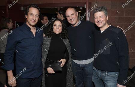 David Greenbaum, Julia Louis-Dreyfus, Matt Greenfield, and Anthony Bregman