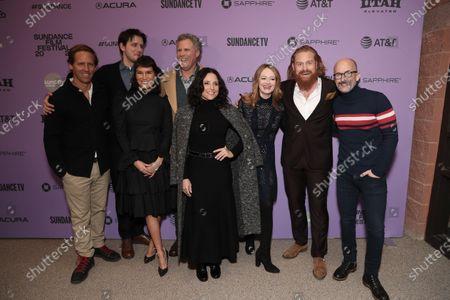 Director Nat Faxon, Zach Woods, Zoe Chao, Will Ferrell, Julia Loius-Dreyfus, Miranda Otto, Kristofer Hivju and Director Jim Rash