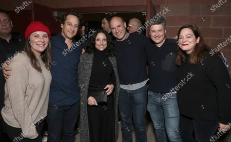 Taylor Friedman, David Greenbaum, Julia Louis-Dreyfus, Matt Greenfield, Anthony Bregman and Stefani Azpiazu