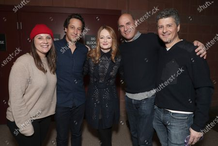 Taylor Friedman, David Greenbaum, Miranda Otto, Matt Greenfield, and Anthony Bregman