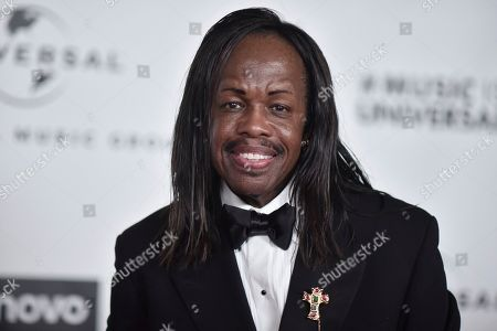 Stock Image of Verdine White attends the Universal Music Group 2020 Grammy after party at Rolling Greens, in Los Angeles