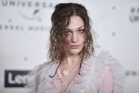 Stock Picture of Whitney Woerz attends the Universal Music Group 2020 Grammy after party at Rolling Greens, in Los Angeles