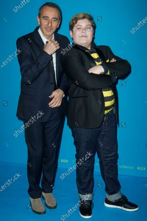 Stock Photo of Elie Semoun and Mathys Gros