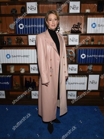 "IMAGE DISTRIBUTED FOR CHASE SAPPHIRE - Carrie Coon seen at the ""The Nest"" cast party at Chase Sapphire on Main at Sundance Film Festival 2020 on in Park City, Utah"