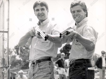 Grand Prix Drivers Martin Donnelly And Derek Warwick.