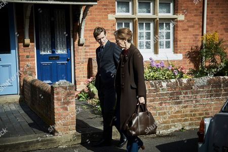 Editorial picture of 'Endeavour' TV show, Series 7, Episode 1, UK - 2020