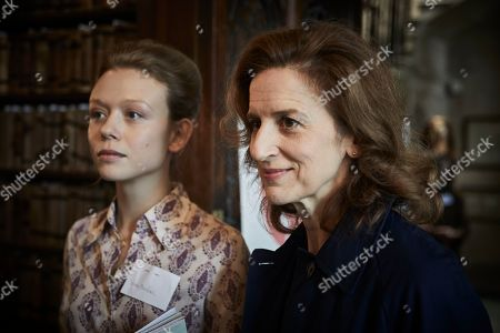 Naomi Battrick as Dr Naomi Benford and Abigail Thaw as Dorothea Frazil.