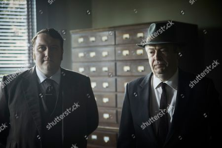 Sean Rigby as DS Jim Strange and Roger Allam as Fred Thursday.