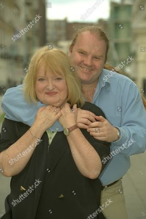Editorial image of Relatively Speaking Feature......patsy Rowlands And Her Son Alan Sircom In London Today Also Collects From Patsy Of The Two Together In The 70's