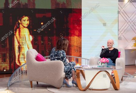 Editorial image of 'Lorraine' TV show, London, UK - 27 Jan 2020