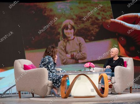 Stock Image of Lorraine Kelly and Gail Porter