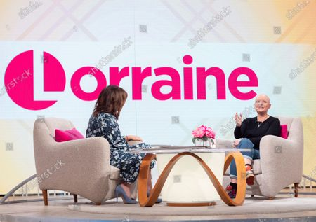 Stock Photo of Lorraine Kelly and Gail Porter