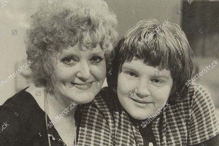 Stock Picture of Relatively Speaking Feature......patsy Rowlands And Her Son Alan Sircom In London Today Also Collects From Patsy Of The Two Together In The 70's
