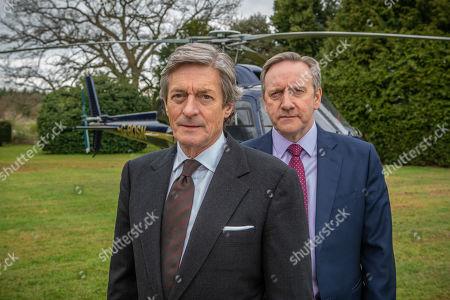 Neil Dudgeon as DCI John Barnaby (R), Nigel Havers as Andrew Wilder
