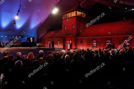 Editorial picture of Auschwitz Liberation Anniversary, Oswiecim, Poland - 27 Jan 2020