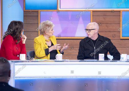 Andrea McLean, Gloria Hunniford, Neil Tennant