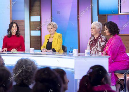 Andrea McLean, Gloria Hunniford, Denise Welch and Saira Khan