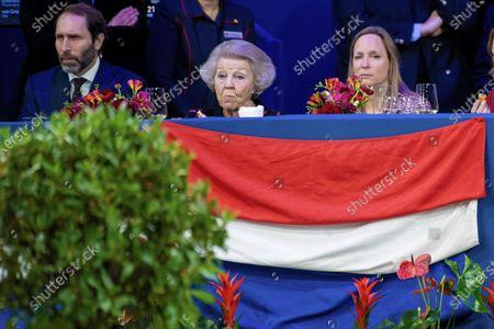 Princess Beatrix and Princess Margarita Maria Beatriz of Bourbon-Parma