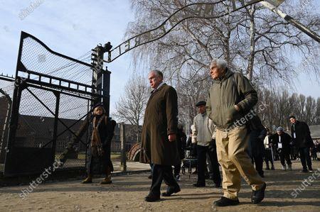Editorial photo of Liberation of Auschwitz anniversary, Oswiecim, Poland - 26 Jan 2020